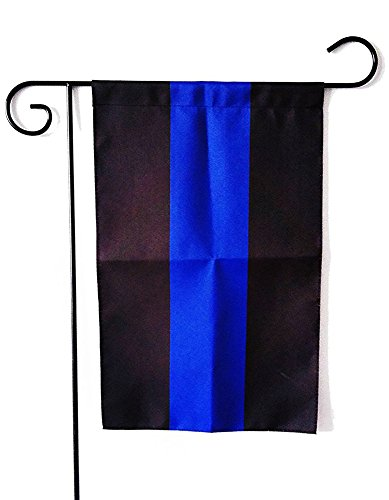ERT Thin Blue Line American 12.5 x 18-Inch Garden Flag By Made By Oxford