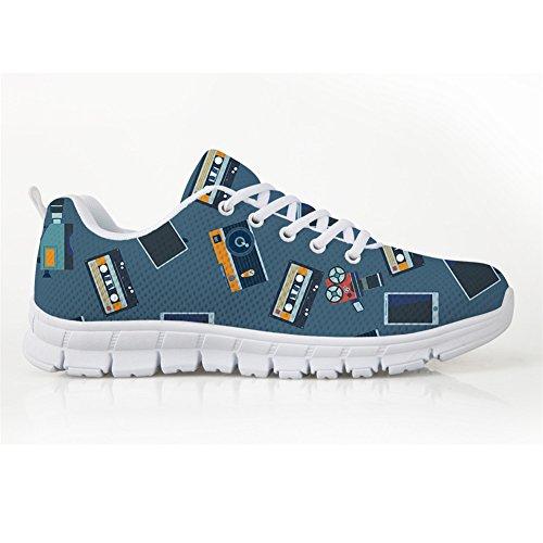 Showudesigns Color Para 4 de Running Zapatillas Mujer pWqpar4