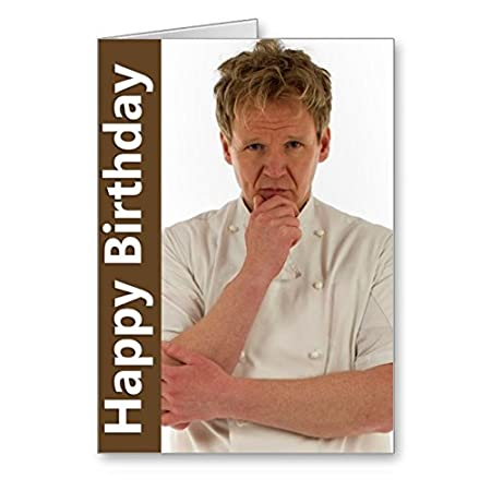 Gordon Ramsay Birthday Card Amazon Office Products