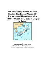 This study covers the latent demand outlook for non-electric gas forced warm air furnaces and humidifiers with 150,001 - 400,000 BTU bonnet output across the prefectures and cities of Japan. Latent demand (in millions of U.S. dollars), or pot...
