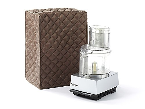 Covermates   Food Processor Cover   12W X 8D X 17H   Diamond Collection   2 Yr Warranty   Year Around Protection   Bronze
