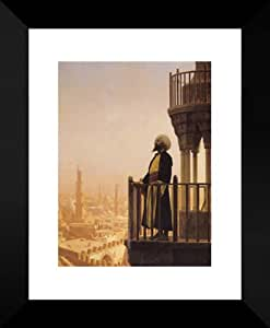 Amazon Com The Muezzin 20x24 Framed Art Print By Gerome