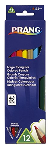 Prang Triangular Sharpener Assorted 25120 product image