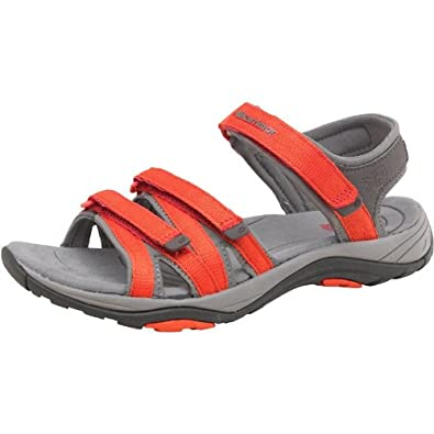 626fed118 Womens Karrimor Strappy II Webbing Sandals Red Girls Ladies (3 UK 3 EUR 36)
