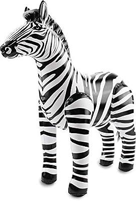 Folat Party Inflable - Zebra (55 x 60 cm)