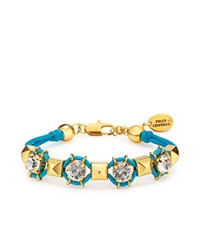 - Juicy Couture Pyramid Stud Friendship Bracelet, Blue