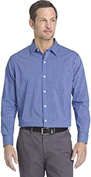 Van Heusen Traveler Stretch Long Sleeve Button Men's Shirt