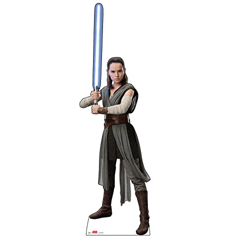 Advanced Graphics Rey Life Size Cardboard Cutout Standup   Star Wars  Episode Viii   The Last Jedi  2017 Film