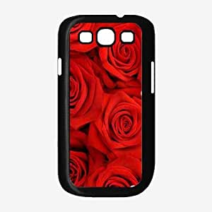 Pretty Red Roses - Phone Case Back Cover (Galaxy S3 - Plastic)