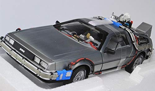1/18 Hot Wheels バックトゥザフューチャー デロリアン Back To The Future Delorean B07NYT8ZQN
