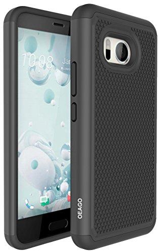 the best attitude 681c8 8db99 HTC U11 Case, OEAGO HTC U11 Case [Shockproof] [Impact - Import It All
