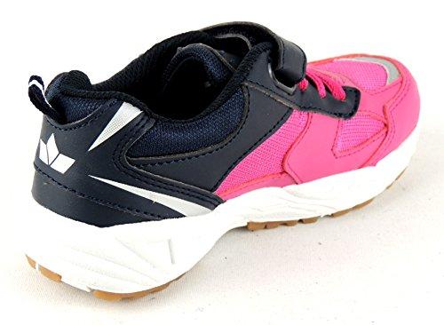 Lico Bob VS - zapatillas deportivas de material sintético niño pink/marine