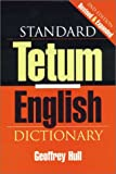 img - for Standard Tetum English Dictionary book / textbook / text book