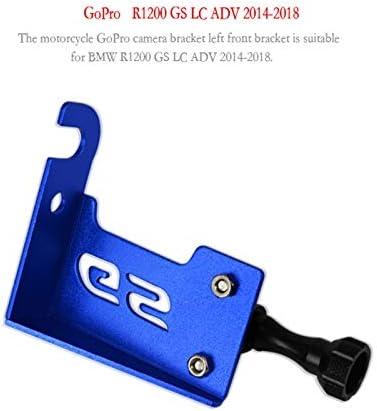 Leoie Support Avant Gauche pour cam/éra GoPro pour BMW R1200 GS LC ADV 14-18