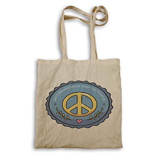 Internationaler Tag Frieden Tragetasche p999r