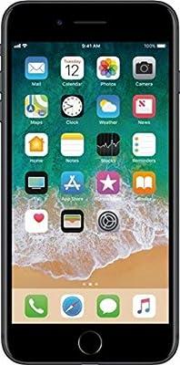 Apple iPhone 7 Plus, GSM Unlocked, 32GB - Black (Refurbished)