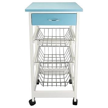 Küchenwagen Servierwagen Küchenrollwagen Küchentrolley Rollwagen ...