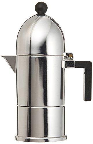 Alessi A9095/1 B La Cupola Espresso Coffee M. Mug, Black by Alessi