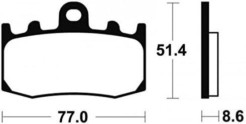 BMW K 1300 S 2009 to 2013 K1300 S /> FULL SET OF SINTERED BRAKE PADS /' K1300S