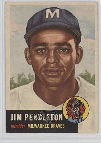 - Jim Pendleton (Baseball Card) 1953 Topps - [Base] #185