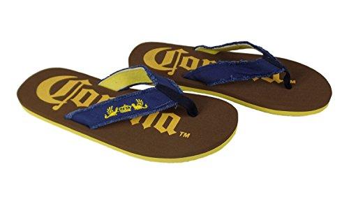 Corona XL Mens Flip Flop Sandals (Men's 14M, Navy Strap) Corona Flip Flops
