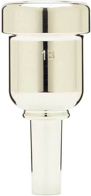 Denis Wick DW6881-1B Heavytop Silver-Plated Cornet Mouthpiece
