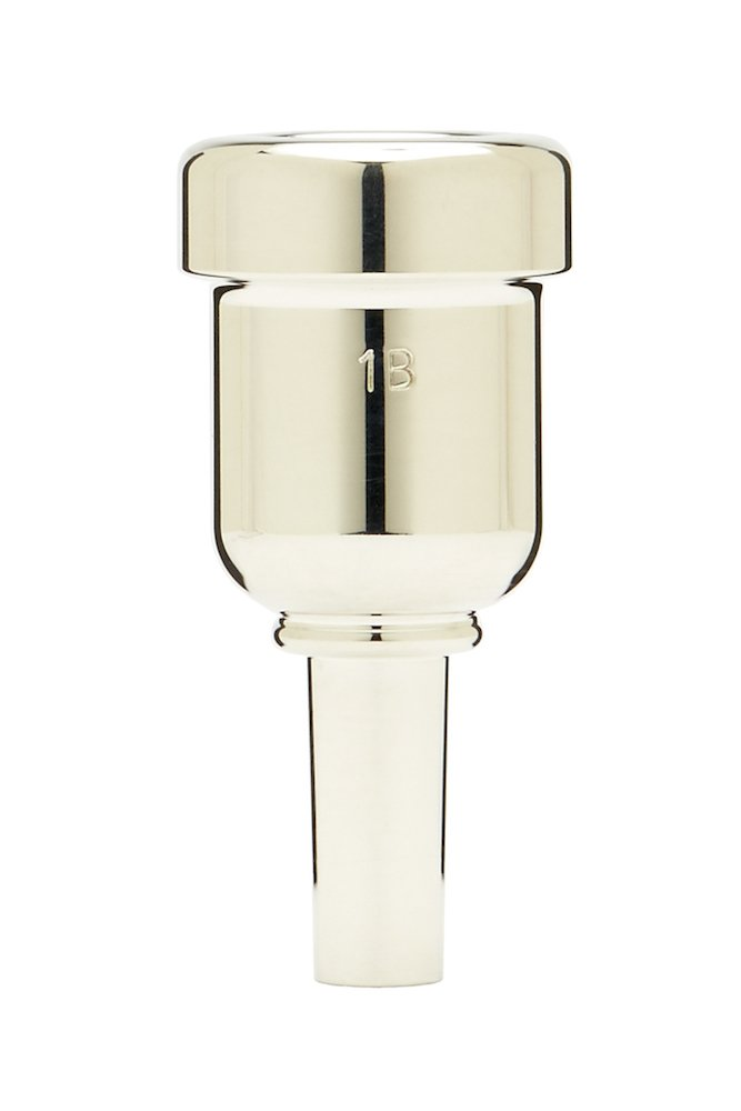 Denis Wick DW6881-1B Heavytop Silver-Plated Cornet Mouthpiece