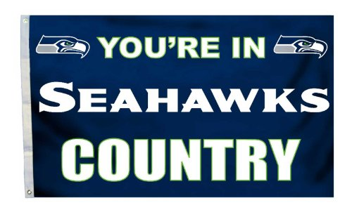 "NEOPlex 3′ x 5′ Flag – ""You're in Seahawks Country"" For Sale"