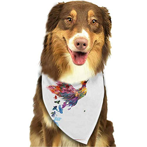Puppy Dog Pet Bandanas,Stylish Accessories for Everyday Adventures,Size:side-18