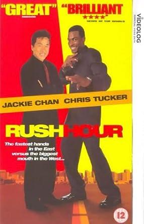 Rush Hour Vhs 1998 Jackie Chan Chris Tucker Ken Leung