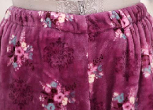 Manga Ocio Del Púrpura De Top Pijama Ducha Mujer Purple Pantalones Lujo Moda Para Hotel Y Conjunto Larga Franela Jogging Suave PzRzTq0w