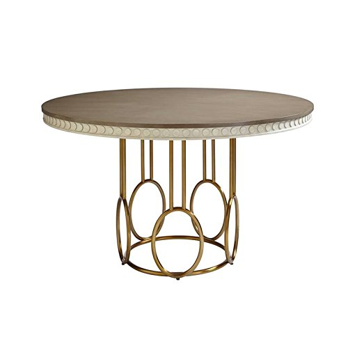 Stanley Round Dining Table (Stanley Furniture Coastal Living Oasis-Venice Beach Round Dining Table in Oyster)