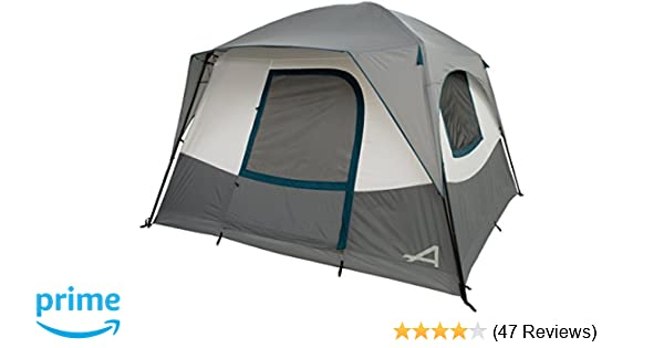 ALPS Mountaineering Camp Creek 6 Person Tent, Charcoal/Blue