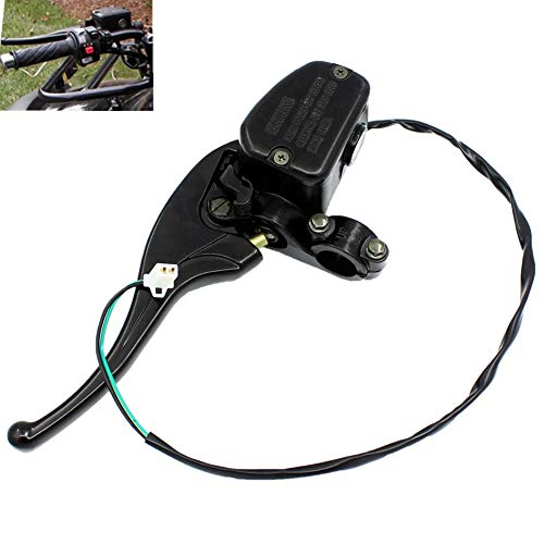 (QAZAKY Left Front Brake Master Cylinder Polaris Big Boss Hawkeye Magnum Scrambler Sport Sportsman Trail Blazer Worker Xpedition Xplorer 250 300 325 330 350L 400L 425 450 500 550 600 700 800 850 X2 XP)