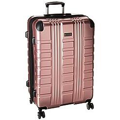 WMB Travel Pro 410MVzUCi5L._SS247_ Kenneth Cole Reaction Scott's Corner Hardside Expandable 8-Wheel Spinner TSA Lock Travel Suitcase, Rose Gold, 28-inch…