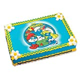 The Smurfs Edible Image Cake Topper