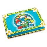 The Smurfs Edible Image Cake Topper