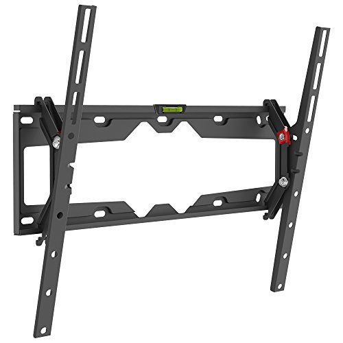 """Barkan Wall Mount - Barkan 19""""- 65"""" Tilt Flat / Curved TV Wall Mount, Up to 110 lbs, Black, Auto-Locking Patented,."""