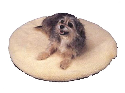 Allied Precision Heated Pet Bed - Allied Precision ALLIEDPR12PBR Round Heated Pet Bed