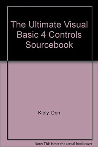 The Ultimate Visual Basic 4 Controls Sourcebook