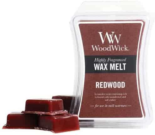 Redwood WoodWick Hourglass 3 oz Wax Melt
