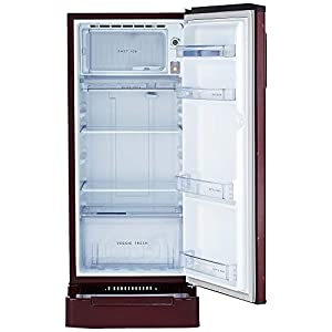 Whirlpool 190 L 3 Star Direct Cool Single Door Refrigerator(WDE 205 Roy 3S, Wine Fiesta, Base Stand with Drawer)