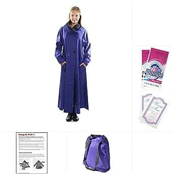 Mycra Pac Long Donatella Fashion Travel Raincoat