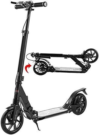 スクーター、ダブルブレーキシステム、ディスプレイ画面モードインチソリッドリアを持つ大人のためのポータブル折りたたみ通勤スクーター