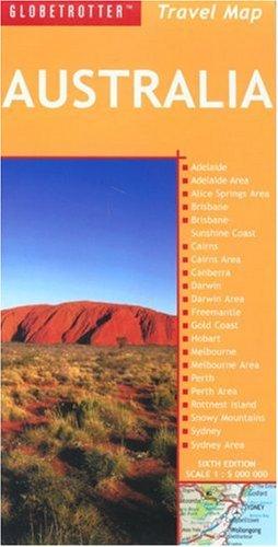 Australia Travel Map (Globetrotter Travel Map)