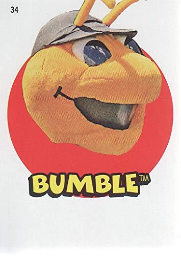 2016 Topps Heritage Minors Baseball '67 Stickers #34 Bumble Salt Lake Bees ()