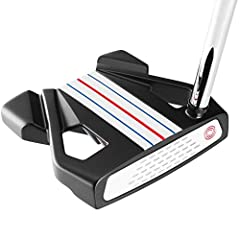 Odyssey Triple Track Putters are developed with innovative Triple Track alignment technology, a multi-material Stroke Lab shaft, and a Microhinge Star Insert.