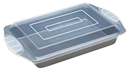 Wilton Excelle Elite 13 by 9-Inch Oblong Pan with Cover