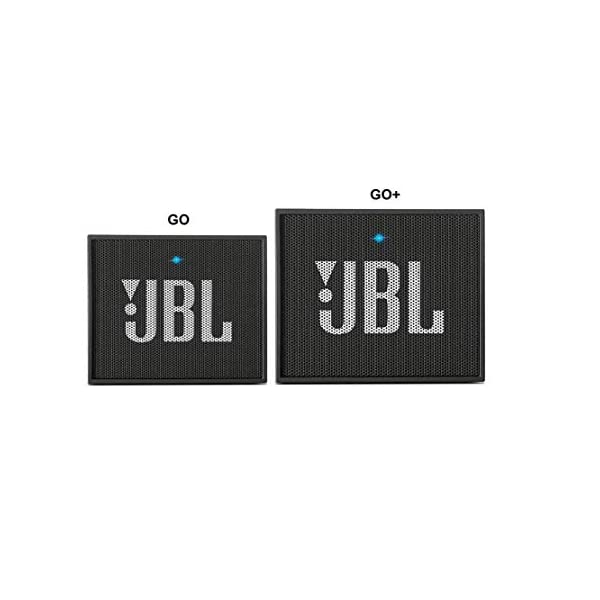JBL Go+ enceinte Bluetooth Portable - Baffle avec Kit Mains-libres et Réduction de Bruit - Non Étanche - Autonomie 5hrs - Qualité Audio JBL - Noir 5