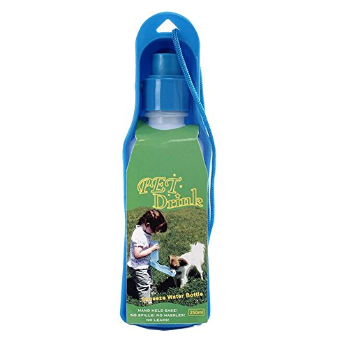Animal Drinking Device,Portable Pet Water Bottle,500ML,Random Color by Panda Superstore (Image #2)